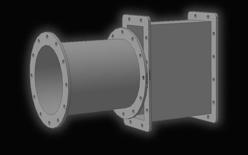 Стаканы полустаканы комингсы вентиляционные 548-03.* Судовое оборудование
