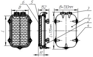 Крышки ВГН Тип 1